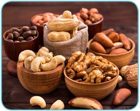 E vitamini içeren bazı besinler