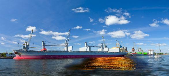Gemiden sızan petrol