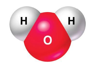 Su molekülünün yapısı