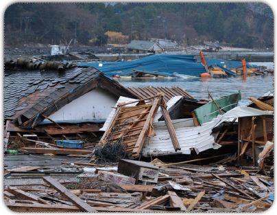 Tsunaminin oluşturduğu yıkım