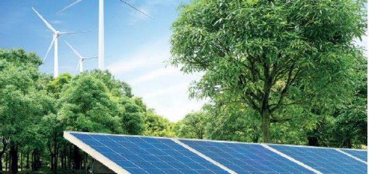 Rüzgâr ve güneş enerjijsi panelleri